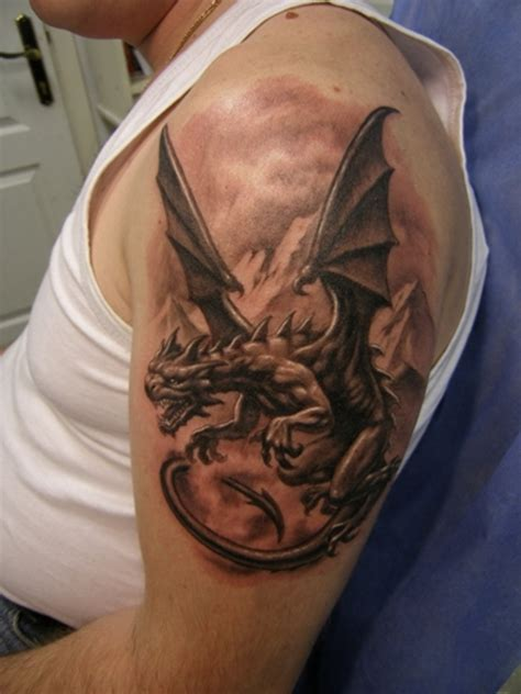 dragon arm tattoo 77 wonderful shoulder tattoos