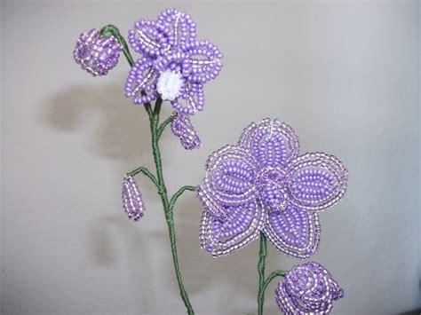 fiori di perline schemi gratis orchidea di perline in vaso terracotta feste