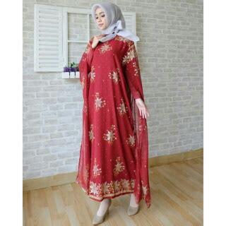 Gamis India Maroon koleksi baju india modern bahan sari india