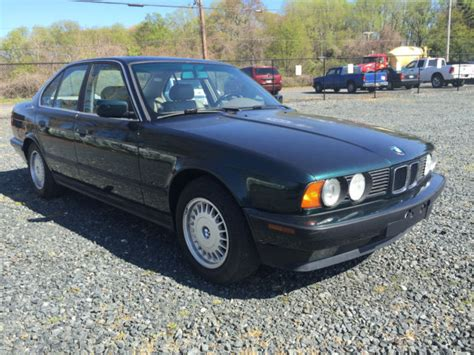 old car owners manuals 1994 bmw 3 series electronic valve timing 1994 bmw 525i e34 sedan manual transmission classic exceptional condition for sale bmw 5