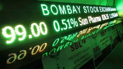 Bse Mba In Financial Markets Review by Led Stock Market Ticker Bse Nse India Led Stock Ticker