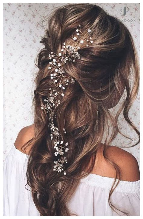 beautiful wedding hairstyles for long hair 10 beautiful wedding hairstyles for long hair l pink book