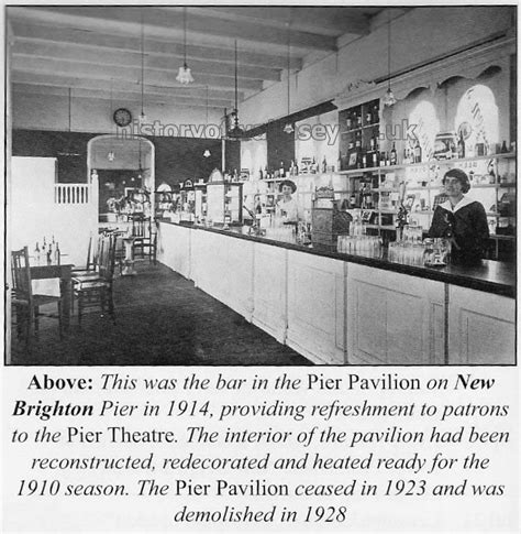 the palace pier and theatre brighton later brighton pier history of wallasey theatres
