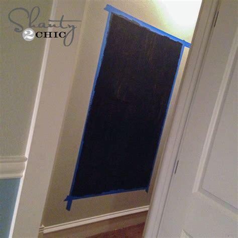 painting chalkboard on wall diy framed chalkboard wall shanty 2 chic