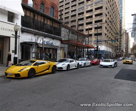 Lamborghini Chicago Lamborghini Aventador Spotted In Chicago Illinois On 11
