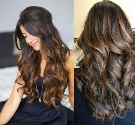 highlight hairstyles brown hair with honey highlights hair colors