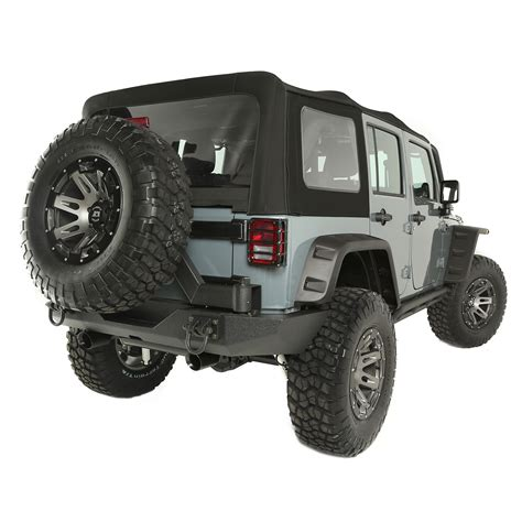 rugged ridge catalog rugged ridge 13742 01 sailcloth soft top black 10 15 jeep 4 door wrangler