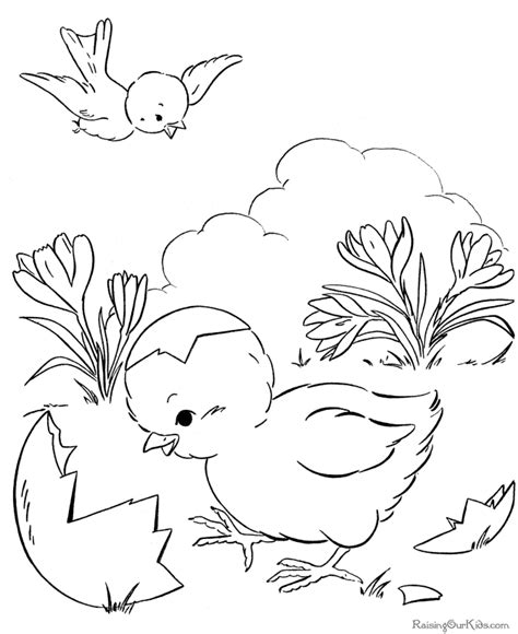 easter duck coloring page easter coloring pages 010