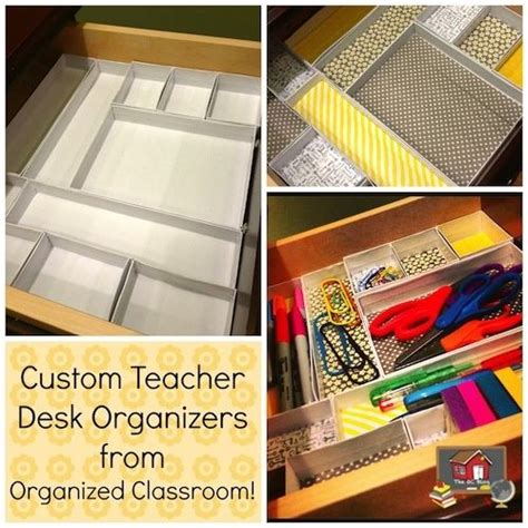 17 Best Images About Teacher Desk Organization On Desk Organized