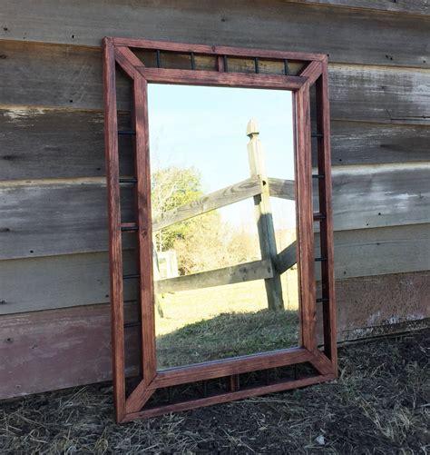 mirror home decor industrial mirror rustic home decor modern rustic mirrors