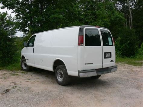 automobile air conditioning service 2000 chevrolet express 2500 windshield wipe control purchase used 2000 chevrolet express 2500 base standard cargo van 3 door 5 7l in tiger georgia