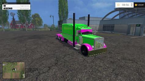 colored contacts simulator peterbilt 10 215 10 colored truck ls2015