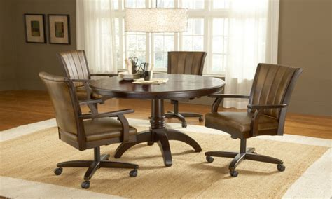 casual dining room sets rolling dinette chairs casual dining room sets dining room sets with caster chairs dining room