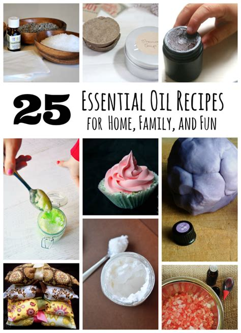 using essential oils for home family and make and