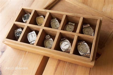 Jam Kotak Kayu box jam tangan kayu jati solid arlojimania