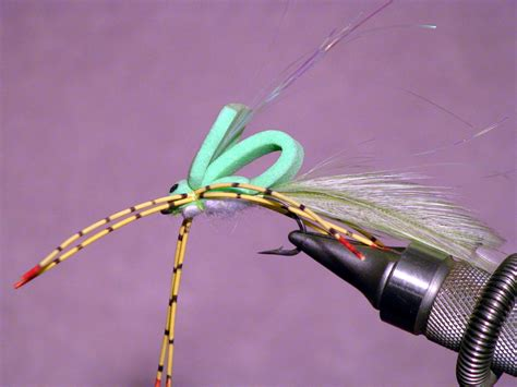 stealth bomber smallmouth bass fly