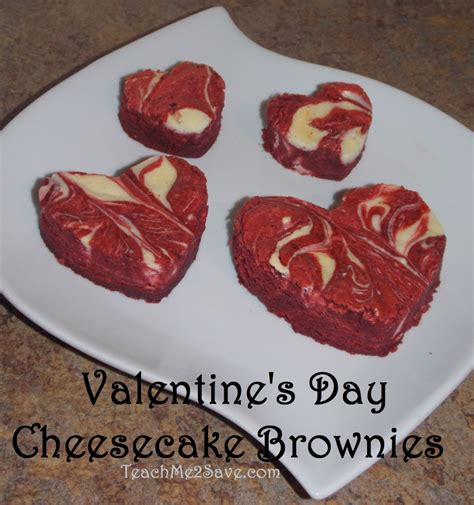 valentines day brownie s day cheesecake brownies recipe funtastic