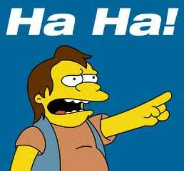 Haha Simpsons Meme - nelson simpsons haha memes 4 comments pinterest
