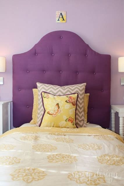 purple headboard instructions on a diy tuffed headboard colors of the