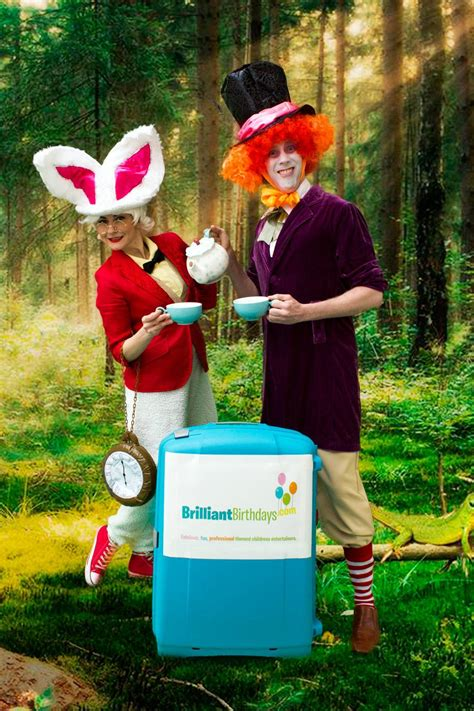 mad about a brilliant look at our brainless president mad hatter white rabbit brilliant birthdays