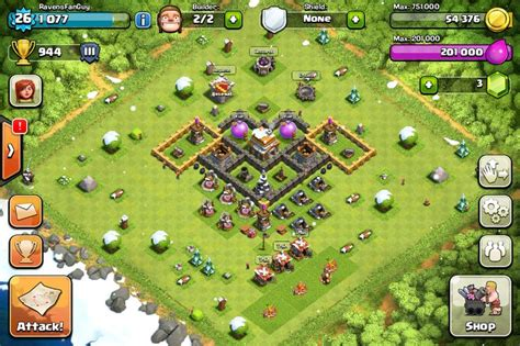 coc layout heart 17 best images about clash of clans on pinterest