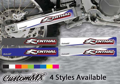 swing arm stickers swingarm stickers yamaha yz yzf models custom mx