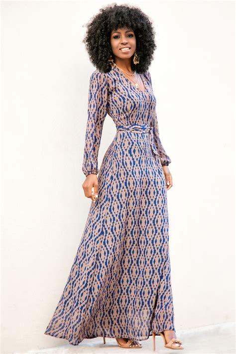 style pantry sleeve maxi dress
