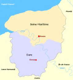 Normandy France Map by Normandy France Map Of Images