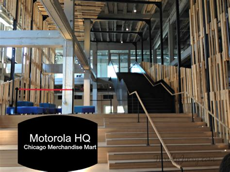 Motorola Corporate Office by A Tour Of The New Motorola Hq In Chicago S Merchandise