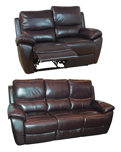 Bentley Leather 3 Seater Plus 2 Seater Home Essentials Bentley Leather Sofa