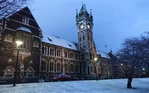 New Zealand Universities For Mba by Dunedin Otago Cop Worst Of Snow Radio New Zealand News