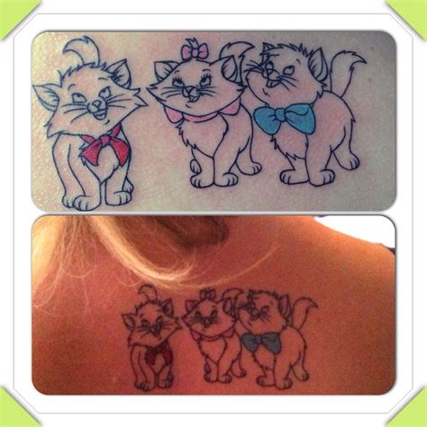 aristocats tattoo here s my aristocat toulouse berlioz a