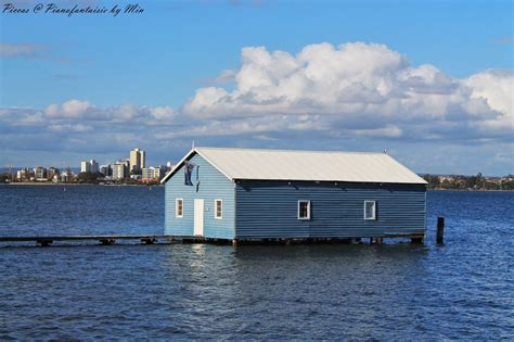 Uwa Boat Shed by Piccas Pianofantaisie By Min Langley Park And Boat