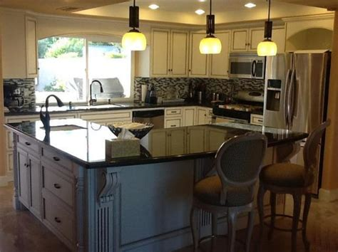 kitchen with l shaped island l shaped kitchen island house kitchen
