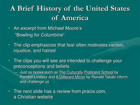 The History Of The United States Of America Us Historycom | ppt a different mirror chapter 1 and excerpts of chapter