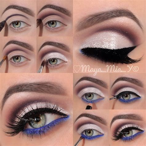 eyeliner tutorial for school eyes multi on pinterest urban decay electric eyeshadows