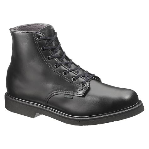 bates s lites black durable leather boots e00058 made