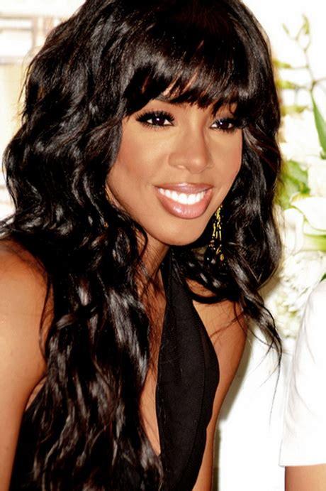 Black Hairstyles With Weave Look by Wavy Weave Black Hairstyles