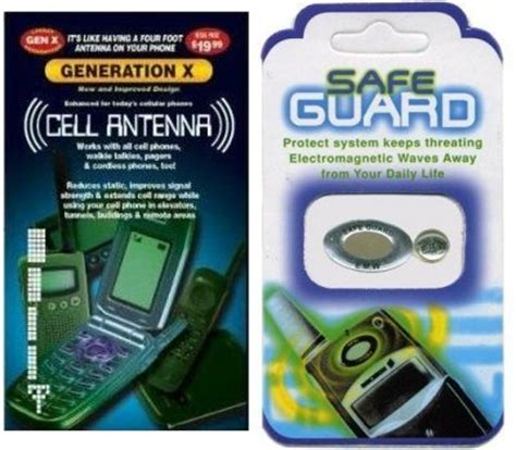 generation x cell phone antenna booster and safe guard anti radiation protector sticker