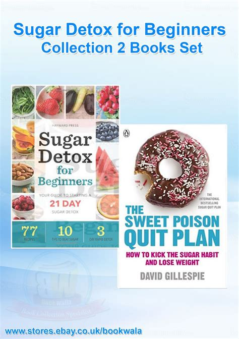 Detox For Beginners by Sugar Detox For Beginners Collection 2 Books Set The