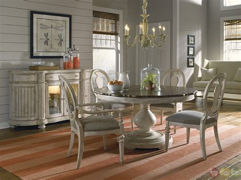 coastal dining room sets belmar luxury coastal whitewash finish oval dining table chairs set