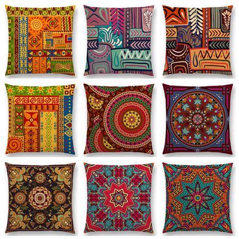 023775rforever21 Bohemian Waving Pattern Opening Orange 1 animal symbol block boho geometric floral pattern