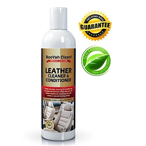 Leather Upholstery Cleaner For Cars by Booyah Clean Leather Cleaner Conditioner For Car
