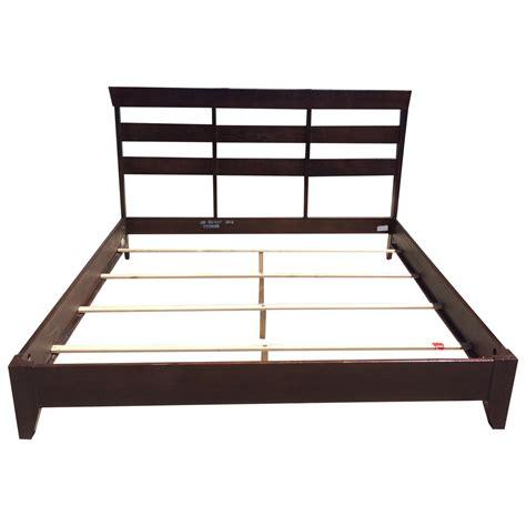 ethan allen bed frame ethan allen horizon collection king bed frame chairish