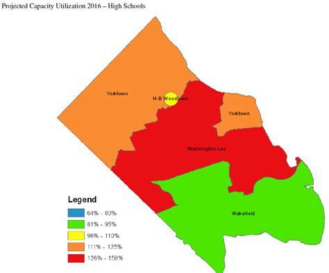 Arlington County School Calendar 2016 School Capacity Projection High School Arlnow