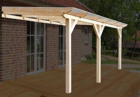 pavillon vordach h a p premium 600 215 400 cm bxt leimholz terrassen 252 berdachung