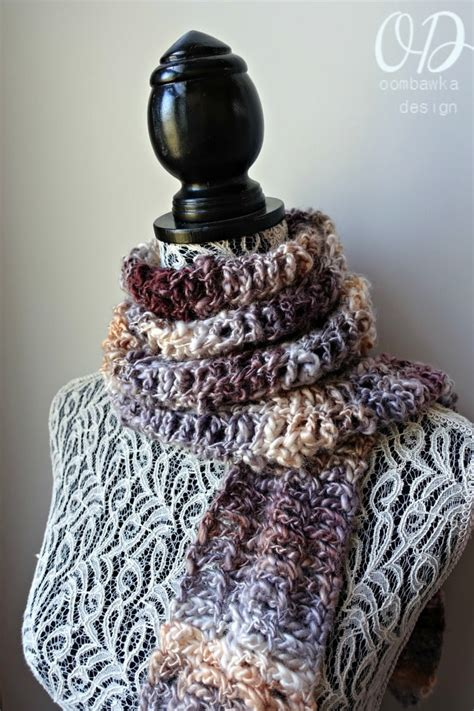 crochet scarf pattern beginner video serendipity scarf july s scarf of the month club free