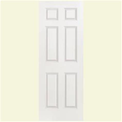 hollow interior doors home depot masonite smooth 6 panel hollow primed composite