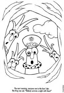 veggie tales coloring pages jimmy az coloring pages