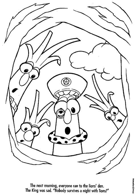 Blog Archives Electronicsrutor Veggie Tale Coloring Pages